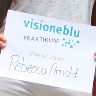 Visioneblu kommunikation design grafik praktikantin for Praktikum grafikdesign